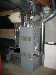 oil furnace puff back