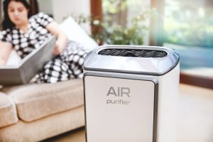 using an air purifier to help with mold